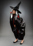 Witch full length shot Royalty Free Stock Photo