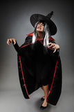 Witch full length shot Stock Photography