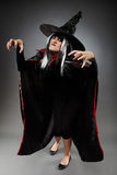 Witch full length shot Stock Image