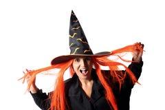 Witch hair Stock Photos