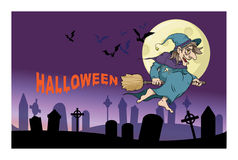 Witch, halloween Royalty Free Stock Photo