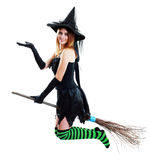 Witch halloween Royalty Free Stock Images