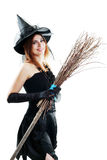 Witch halloween stock image