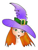 Witch hat Royalty Free Stock Images
