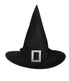 Witch Hat. Isolated on a white background Stock Photography