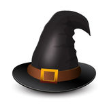 Witch Hat for Halloween. Icon for Halloween Royalty Free Stock Photo