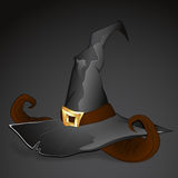 Witch Hat Vector. Creative Abstract Conceptual Design Art of Witch Hat Vector Illustration Royalty Free Stock Photography