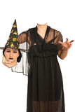 Witch holding her head Stock Images