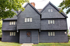 Witch House of Salem Mass Royalty Free Stock Image