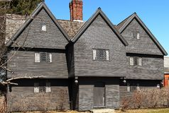 The Witch House in Salem stock photo