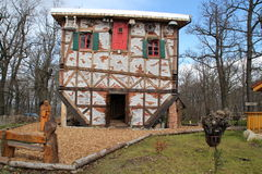 A witch house. In Thale,Germany Stock Photography