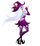 Witch illustration Stock Photo