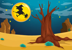 A witch Royalty Free Stock Photo