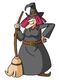 Witch. Illustrator design .eps 10 Stock Images
