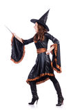 Witch isolated Royalty Free Stock Photos