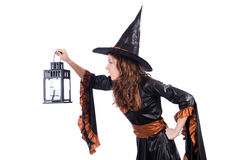 Witch isolated Stock Photography