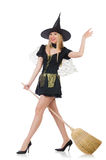 Witch isolated Royalty Free Stock Images