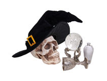 Witch items Royalty Free Stock Image