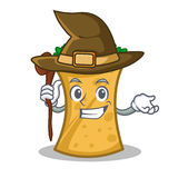 Witch kebab wrap character cartoon. Vector illustration royalty free illustration