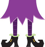 Witch Legs Royalty Free Stock Photo