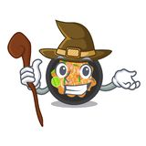 Witch pat thai in the cartoon shape. Vector illustration vector illustration
