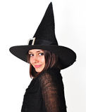 Witch portrait Stock Image