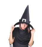 Witch portrait Stock Photos