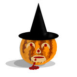 Witch Pumpkin Stock Images