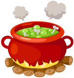 Witch's cauldron Royalty Free Stock Image
