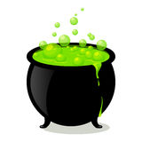 Witch's Cauldron Royalty Free Stock Photography