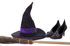 Witch's costume. Stock Photo