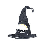witch's hat retro cartoon Royalty Free Stock Images