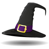 Witch's hat on white background,  Royalty Free Stock Image