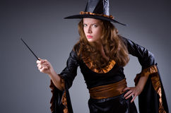 Witch in scary Royalty Free Stock Images
