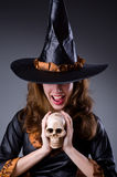 Witch in scary Royalty Free Stock Photos
