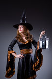 Witch in scary Stock Photos