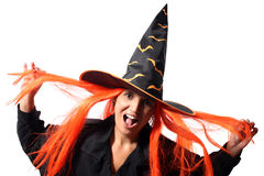 Witch scream Royalty Free Stock Images