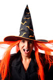 Witch scream Royalty Free Stock Photography