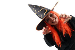 Witch sorcery Stock Image