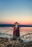 Witch on a swamp Royalty Free Stock Photo