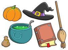 Witch tools Royalty Free Stock Images