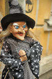 Witch toy Stock Image