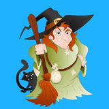 Witch Vector Stock Images