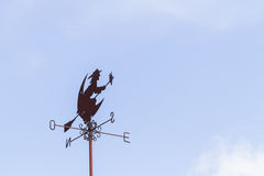 Witch weather Vane Stock Image