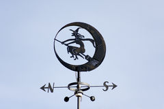 Witch weathervane Royalty Free Stock Photos