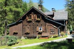 Witch' capanna di s in Stiria superiore, Austria Immagini Stock Libere da Diritti