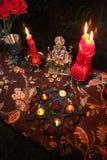 Witchcraft γαμήλια τελετή Στοκ εικόνες με δικαίωμα ελεύθερης χρήσης