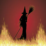 Witchcraft 4 stock illustration