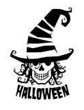 Witcher, Halloween-Abbildung. Lizenzfreie Stockbilder