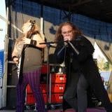 Witchers-Kredo-Metallband von Schweden stockbild